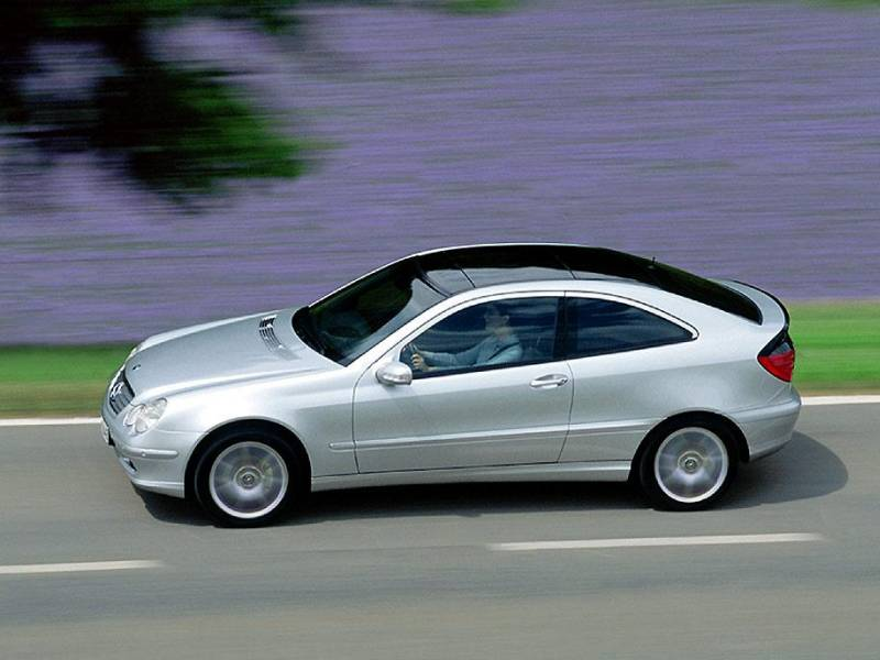 2000 & Late: 2002-2005 Mercedes-Benz C230 Kompressor