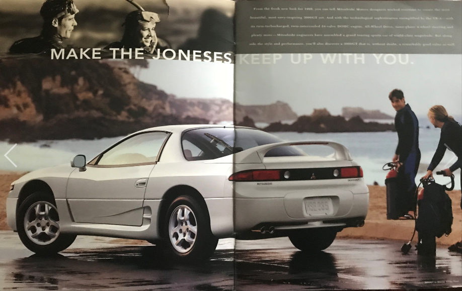 Throwback: 90's & Early-2000's Car Brochures
