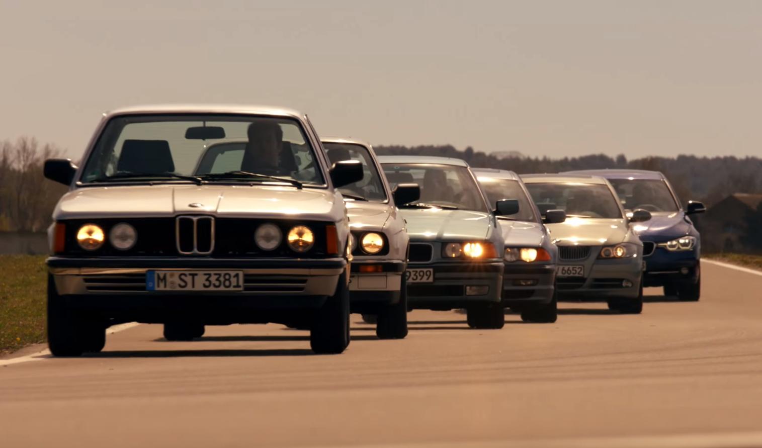 BMW 3 Series: Looking Forward, Glancing Back